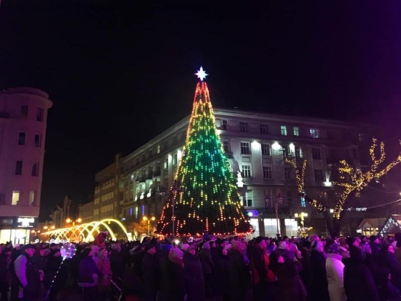 На свята Івано-Франківськ відвідало майже 300 тисяч туристів