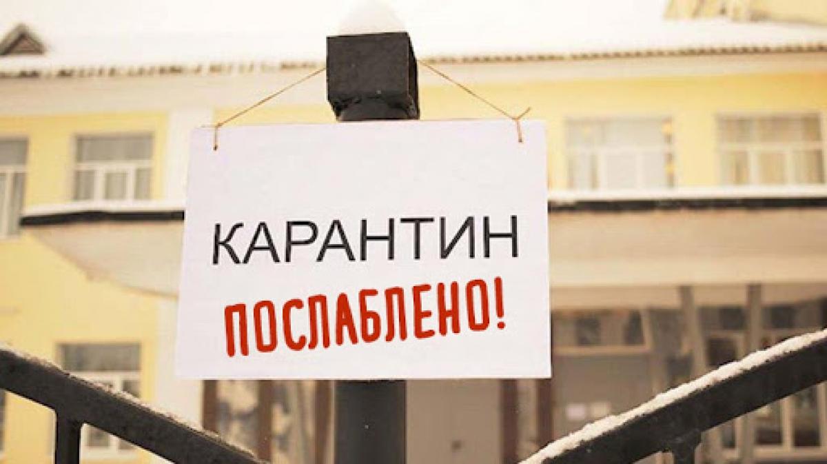 Україна у зеленій карантинній зоні!